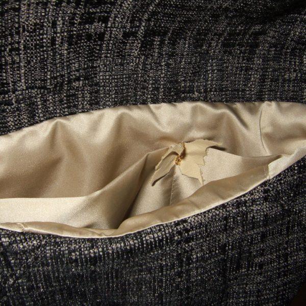 Borsa uccellino - schwarz/beige Umhängetasche